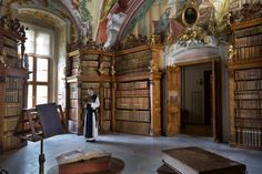 Heiligenkreuz library (Austria). © Jorge Royan / http://www.royan.com.ar / CC-BY-SA-3.0