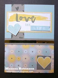 Heartfelt Sentiments: Hello Life - National Stamping Month Blog Hop #CTMHGeorgie #CTMHHelloLife #CC1042HelloLife-PocketScrapbooking