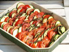 Tian de légumes à la provençale (vegan)