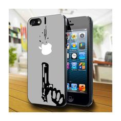 gun shoot apple, iPhone 4 Case, iPhone 4s
