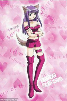 Zakuro from Tokyo Mew Mew Tokyo Mew Mew, Manga Art, Manga Anime, Anime Art, Anime Wolf, Lightning Photos, Dark Blue Eyes, Shugo Chara, Anime Eyes