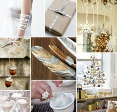 Mood Board Monday: Holiday Metallics (http://blog.hgtv.com/design/2012/11/26/mood-board-monday-holiday-metallics/?soc=pinterest)