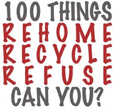 {Get Rid of 100 Things Weekend} Anyone interested in giving it a try this weekend?