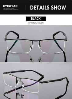 Bclear High-End Business Men'S Eyeglasses Frame Unique Temple Design – FuzWeb Mens Glasses Frames, Eyeglass Frames For Men, Perfect Teeth, Temple Design, Men Eyeglasses, Reading Glasses, Eye Glasses, Eyewear, Mens Fashion
