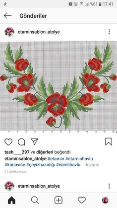 Palestinian Embroidery, Embroidery Patterns, Poppies, Cross Stitch, Crafts, Illustration, Instagram, Cross Stitch Rose, Towels