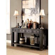 Home Sofa Table Decor Transitional Console Tables Furniture
