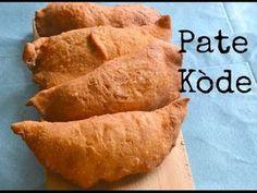 How To Make Pate Kode ( Haitian Patties) Haitian Pate Recipe, Haitian Food Recipes, Pate Recipes, Cooking Recipes, Donut Recipes, Cooking Videos, Beignets, Johnny Cake, Empanadas