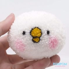 DIY Tutorial - How to Make a Pompom Usagi Bunny - Pompom Tutorial [Video] in 2020 (With videos) Crafts To Make And Sell Easy, Diy And Crafts, Crafts For Kids, Pom Pom Crafts, Yarn Crafts, Pom Pom Rug, Pom Poms, Pom Pom Animals, How To Make A Pom Pom