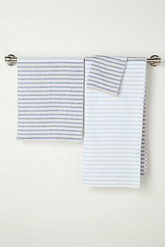 Morihata Ribbon Towel  #anthropologie