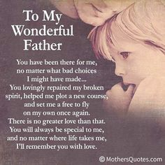 fathers day poems from daughter to dad