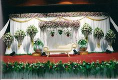 10 Awesome Indian Wedding Stage Decoration Ideas In 2019