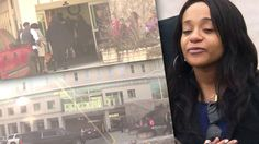 A bloody assault wasn't enough to keep the Brown family from visiting brain dead Bobbi Kristina