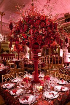Centres de tables mariage st valentin 6