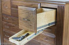 Hidden Compartment Dresser