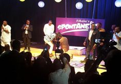 JUSTFARB Blog : Women Lifestyle, News and more: Photos: Comedian Jedi Ayo proposes to his girlfriend on Ali baba's stagestage..