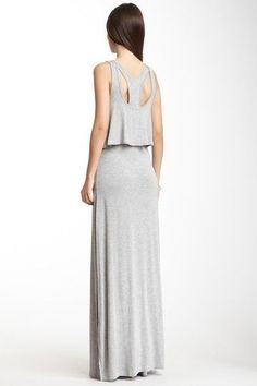 Ruffle Tier Maxi Dress S I M P L I F Y | Big Fashion Show maxi dress #dkny #dress