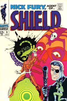 Nick Fury Agent of SHIELD #5 Marvel Comics