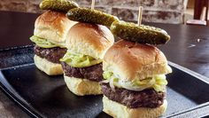 Gyro Spiced Sliders by Michael Psilakis