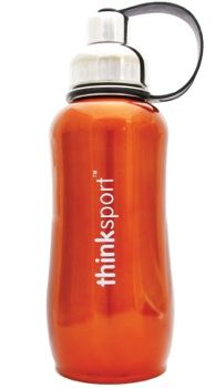 All thinksport bottles are super insulated to keep the contents cold or hot for hours. You can fill our bottle with ice and your favorite drink and enjoy a cold drink without the bottle sweating all over your gym bag, backpack, or desk.  $31.99