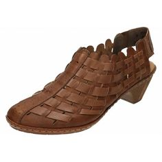 dd1e23b00e15 New Rieker Womens Sina 78 Slip On Brown 38   Additional details at the pin  image