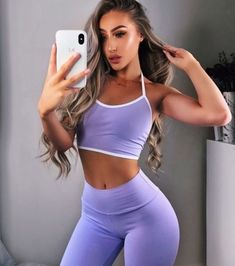 Sport Outfits, Cute Outfits, Gym Outfits, Estilo Fitness, Moda Fitness, Fitness Diet, Fitness Goals, Workout Wear, Female Fitness