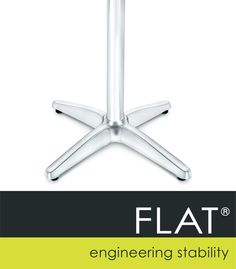 FLAT Coogee Outdoor Table Base Table Bases, Table Height, Outdoor Tables, Wind Turbine, Indoor, Flats, Interior, Loafers & Slip Ons, Flat Shoes