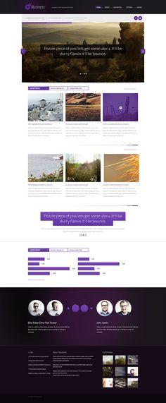 Free Business Themed PSD Website Design http://www.blazrobar.com/2013/free-psd-website-templates/free-business-themed-psd-website-design/