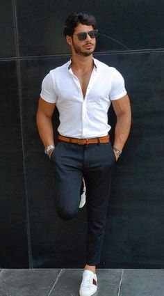 10 Best Casual Shirts For Men That Look Great! – [pin_pinter_full_name] 10 Best Casual Shirts For Men That Look Great! 10 Best Casual Shirts For Men That Look Great! Best Casual Shirts, Mode Man, Formal Men Outfit, Stylish Mens Outfits, Cool Outfits For Men, Herren Outfit, Mens Fashion Suits, Men's Fashion, Trendy Fashion