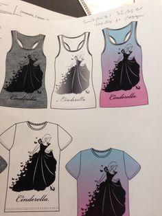 Disney Cinderella T-shirt med dit navn på?