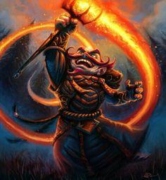 Gnome fire mage