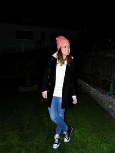 tupersonalshopper Outfit  jeans zara bolso Uterqüe abrigo Zara zapatillas Primark jersey zara gorro Primark  Invierno 2012. Cómo vestirse y combinar según tupersonalshopper el 26-3-2013