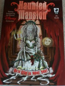 Haunted Mansion Comic 1 - front
