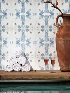 Amazing wallpaper. Poolside Collection by Eskayel.