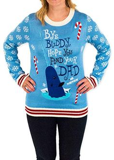 Shop a great selection of Festified Women's Elf Holiday Narwhal Ugly Christmas Sweater Blue. Find new offer and Similar products for Festified Women's Elf Holiday Narwhal Ugly Christmas Sweater Blue. Kids Christmas Sweaters, Best Ugly Christmas Sweater, Holiday Sweaters, Christmas Clothing, Holiday Clothes, Christmas Jumpers, Women's Sweaters, Couple Christmas, Tacky Christmas