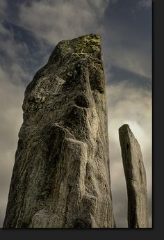 Stone Face · Standing Stones of Callanish · Isle of Lewis © Lothar Hentschel
