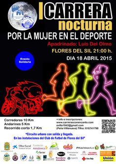 I CARRERA NOCTURNA POR LA MUJER EN EL DEPORTE - Pharmadus con el deporte #salud #sport #running #runners #bierzo #ponferrada #pharmadus