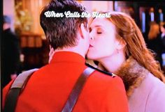 When Calls the Heart - Season Two- Jack & Elizabeth Kissing. <3 <3 <3