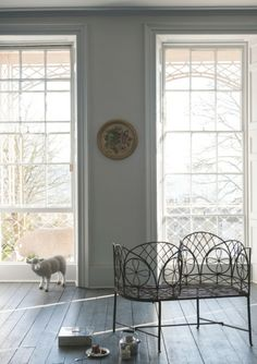 Farrow & Ball paint color Dimpse #277 inspired by twilight southwest of England