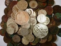 ▶ Metal detecting virgin ground, ALL THE FINDS!! It's a COINUCOPIA! - YouTube