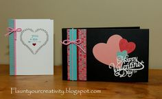 Flaunt Your Creativity: February Workshop - Valentine's Day Album and Card using CTMH Heartstrings