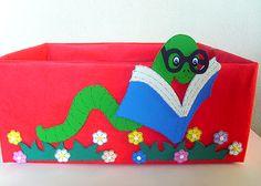 10 dicas de caixas de papelão decoradas | Pra Gente Miúda
