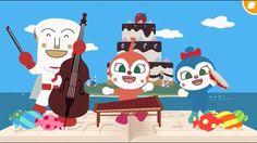 ドキンドキンドキンちゃん♪ うたっておどってアンパンマン❤ 歌と踊りのメドレー♫ 歌 ダンス アニメ ゲーム Japanese TV Anima...