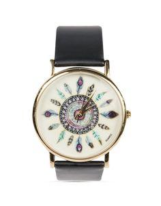 Round 'Feather' Watch