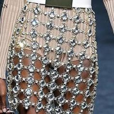 Disco Party Chain Skirt
