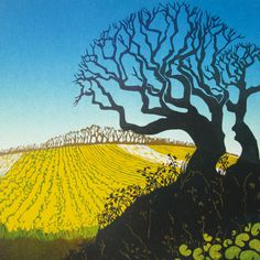 'The Gold Beyond' By Carol Lander.  Blank Art Cards By Green Pebble.