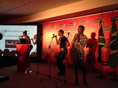 Hotel Intercontinental, festa da inauguração do escritório do Turismo da África do Sul em Sampa