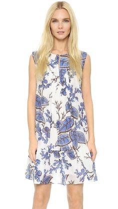 Thakoon Pintuck Dress