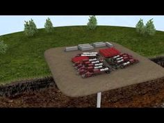 Animation of Hydraulic Fracturing (fracking). This is dangerous and we shouldn't do it