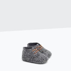 FABRIC BLUCHER-Shoes-Mini | Newborn-12 months-KIDS | ZARA United States