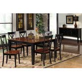 Found it at Wayfair - Cosmo 7 Piece Dining Set